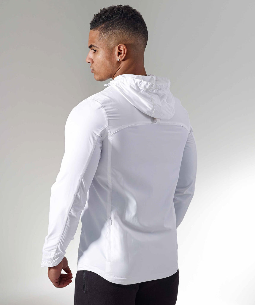 Gymshark Distance Running Jacket - White