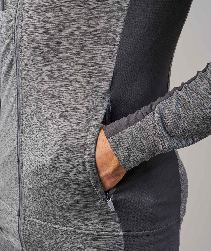 Gymshark Fallout Zip Hoodie - Charcoal Marl 6
