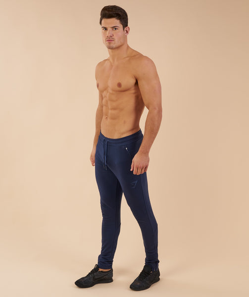 Fit Tapered Bottoms - Sapphire Blue 1
