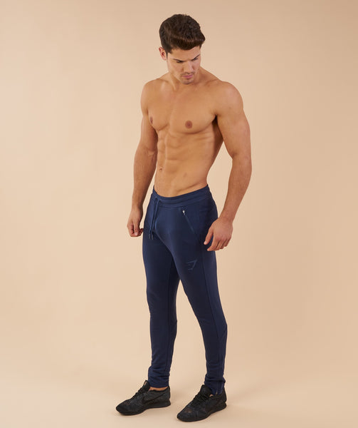 Fit Tapered Bottoms - Sapphire Blue 2