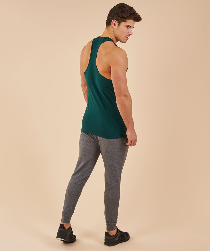 Gymshark Ion Stringer - Forest Green 2