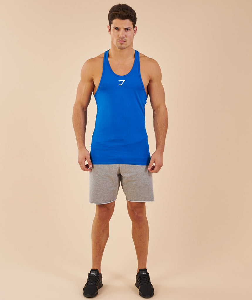 Gymshark Ion Stringer - Dive Blue 1