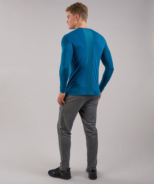 Gymshark Lightweight Long Sleeve T-Shirt - Deep Teal 1