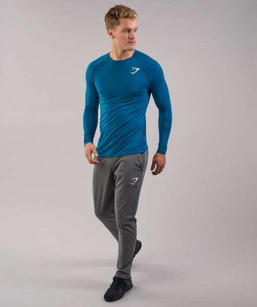 Gymshark Lightweight Long Sleeve T-Shirt - Deep Teal 4