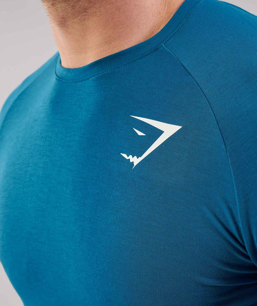 Gymshark Lightweight Long Sleeve T-Shirt - Deep Teal 3