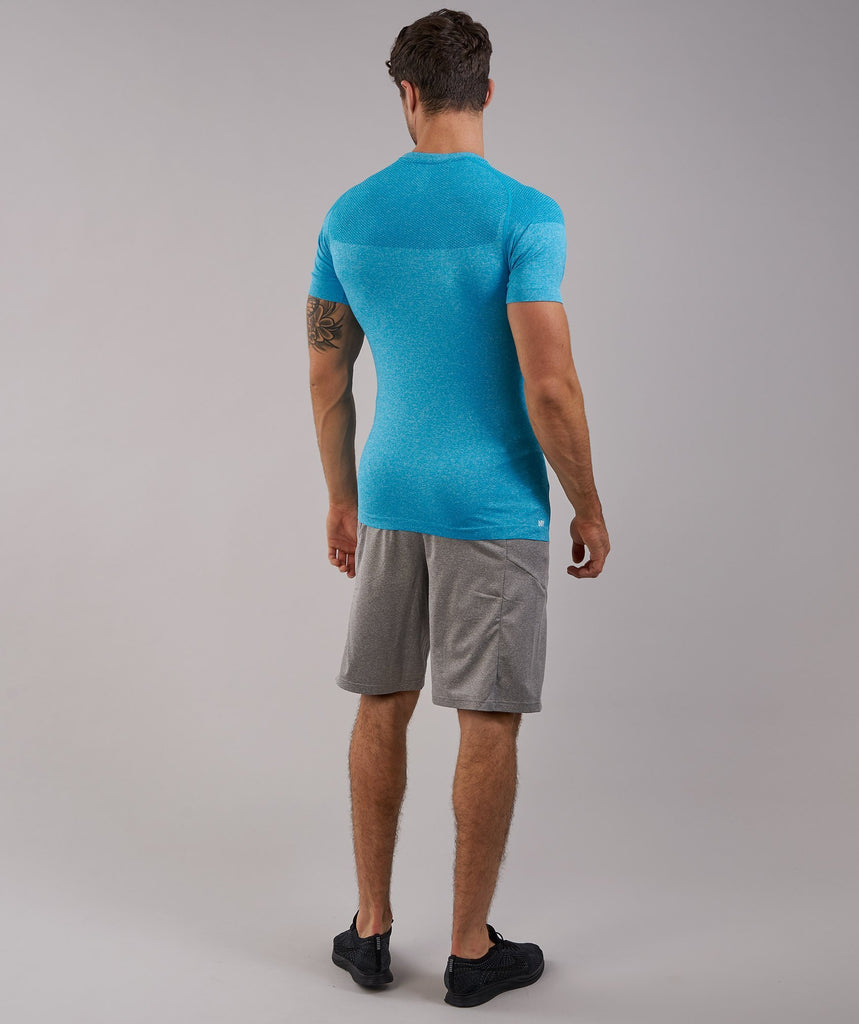 Gymshark Phantom Seamless T-Shirt - Blue 2