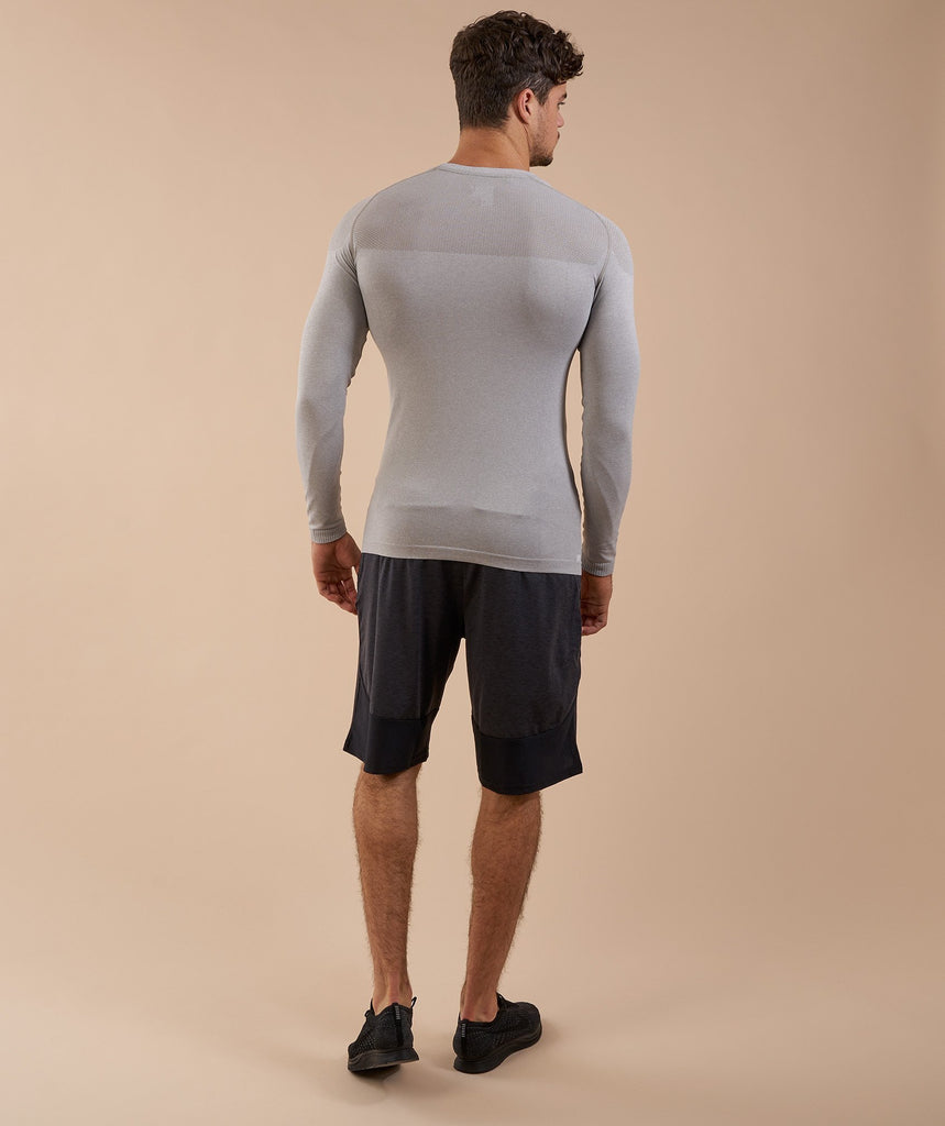 Gymshark Phantom Long Sleeve T-Shirt - Grey 2