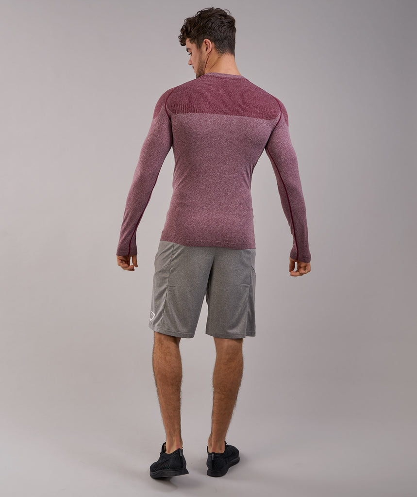 Gymshark Phantom Seamless Long Sleeve T-Shirt - Port Marl 2