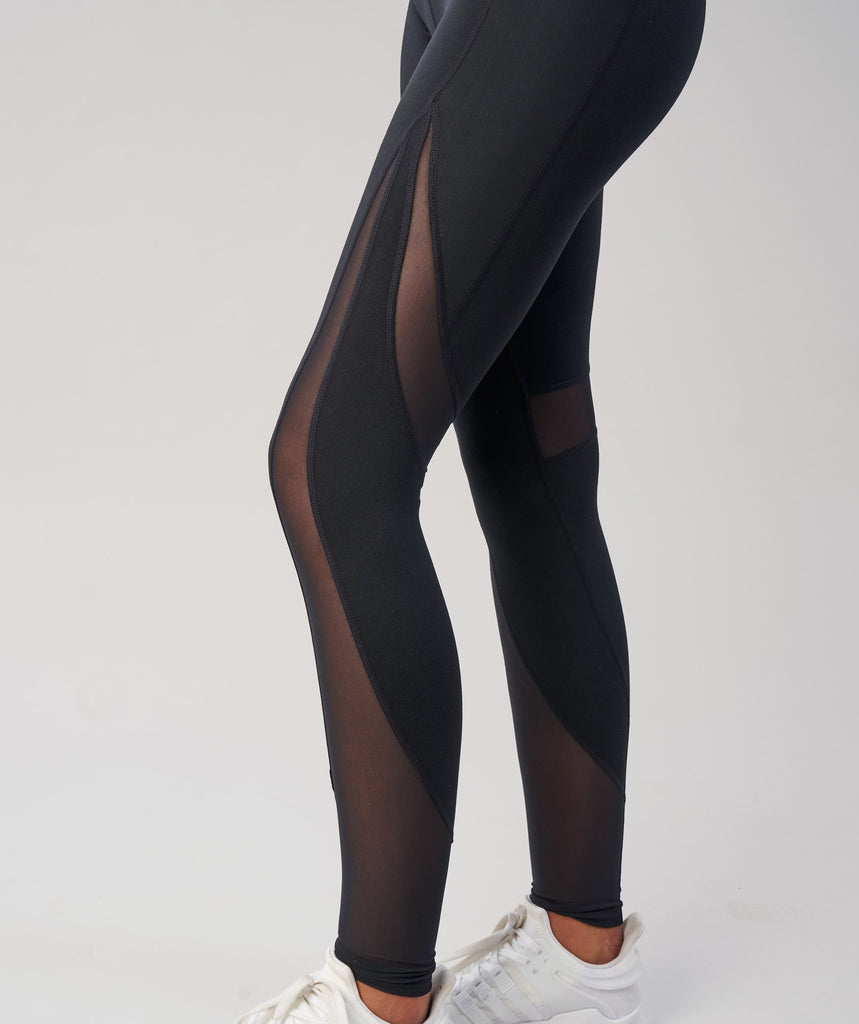 Gymshark Sleek Sculpture Leggings - Black 5