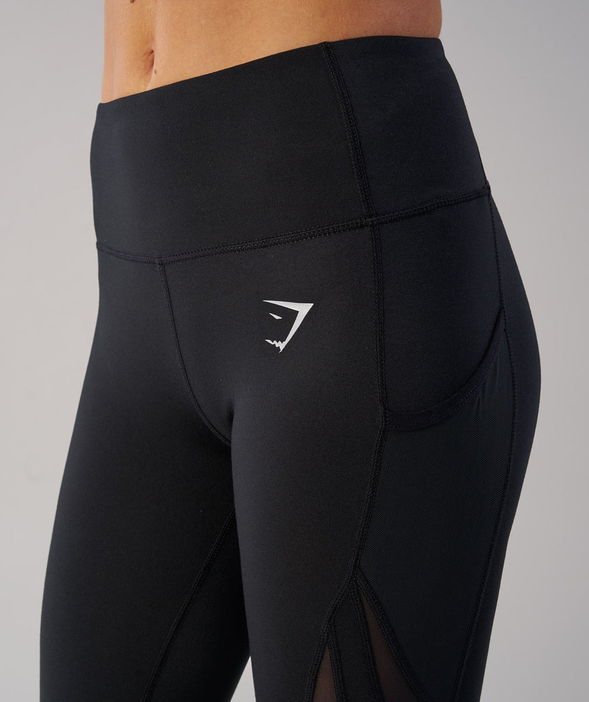 Gymshark Sleek Sculpture Leggings - Black 6