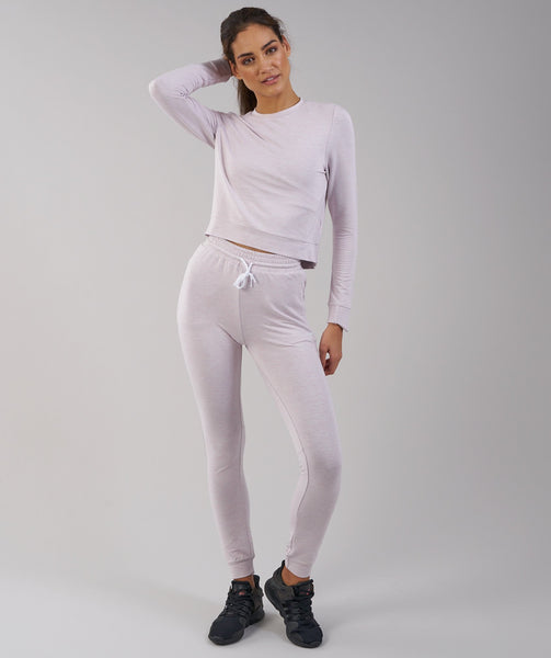 Gymshark Solace Sweater - Chalk Pink Marl 3