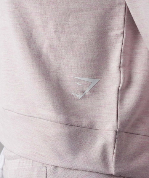 Gymshark Solace Sweater - Chalk Pink Marl 4
