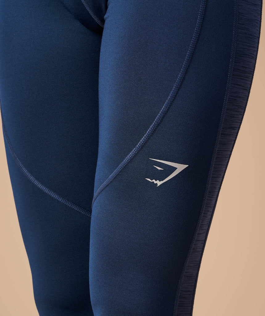 Gymshark Winter Running Leggings - Sapphire Blue 5