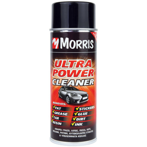 ΣΠΡΕΙ ΤΕΧΝΙΚΑ, ΚΑΘΑΡΙΣΤΙΚΟ ULTRA POWER CLEANER, MORRIS 400ml - eshop by KATOGLOU.com (4435718537286)