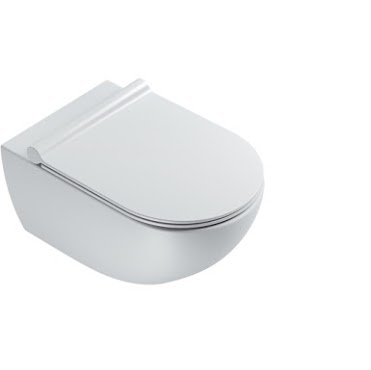 CATALANO wc Newflush 54x35 (New flush without rim). Satin white. - eshop by KATOGLOU.com (4429533806662)