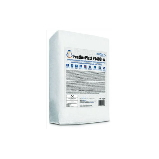 FEATHERPLAST CEMENT PT400W 15kg WHITE - eshop by KATOGLOU.com (4438394241094)