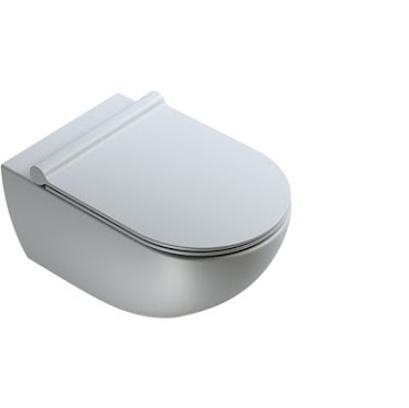 CATALANO wc Newflush 54x35 (New flush without rim). Satin cement. - eshop by KATOGLOU.com (4429533446214)
