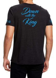 "Dreamland Organics ""Down With The King"" Organic Hemp T Shirt - Dreamland Organics"