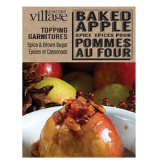 Baked Apple Topping Dessert