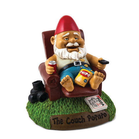 Picture of Couch Potatoe Garden Gnome