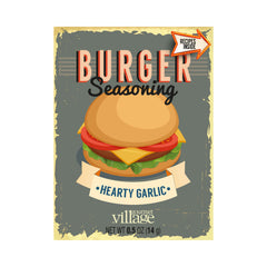 Hearty Garlic Burger Seasoning