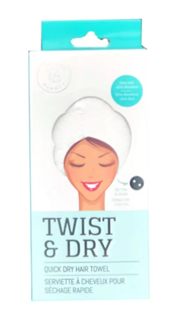 Twist & Dry Quick Dry Hair Towel