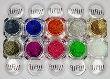 Load image into Gallery viewer, Gel liners sparkling durable glitter gels made by wispy winks
