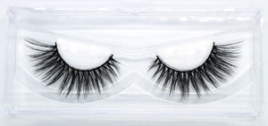 4d everyday fluffy winged short false eyelashes by wispy winks