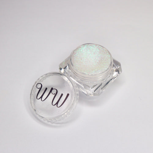 Fairy dust iridescent gel liner for makeup by wispy winks