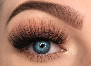 fluffy long fake eyelashes