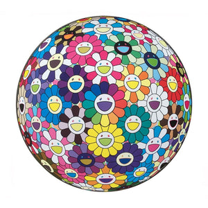 Flower Ball: Multicolor (Thoughts on Matisse)