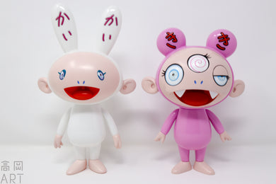 KaiKai & Kiki PVC figures (Blue eye version)