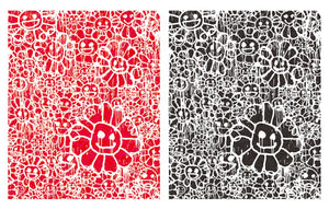 Murakami x Madsaki - Flowers Red A & Flowers Black A