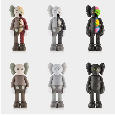 Kaws Companion Open Edition (6 pieces)