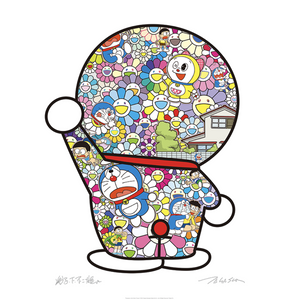 Doraemon in the Field of Flowers