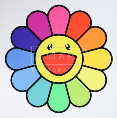 Smile On, Rainbow Flower!!