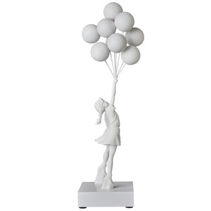 Flying Balloons Girl (2018 White Ver.)