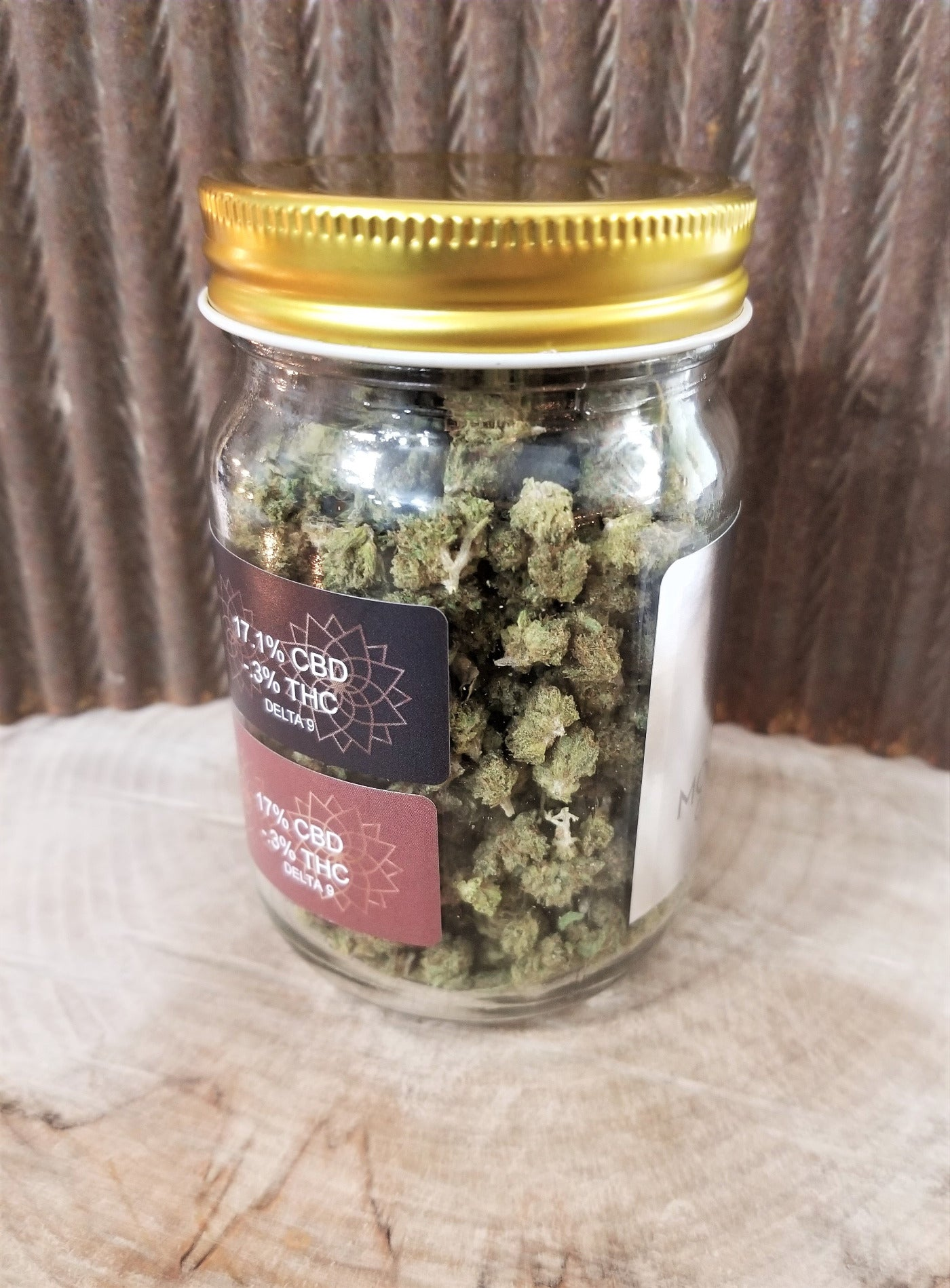 CBD Flower blended jar
