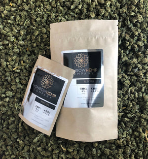 Monrow Hemp CBD packaging