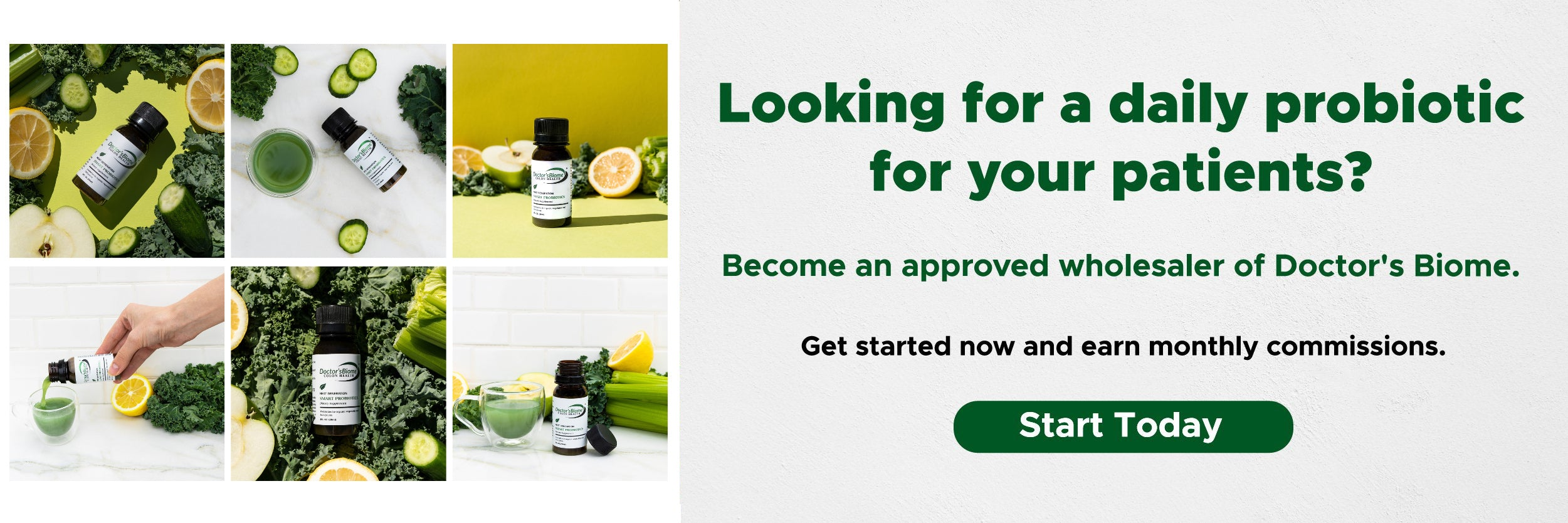 Doctor's Biome Wholesale Application CTA