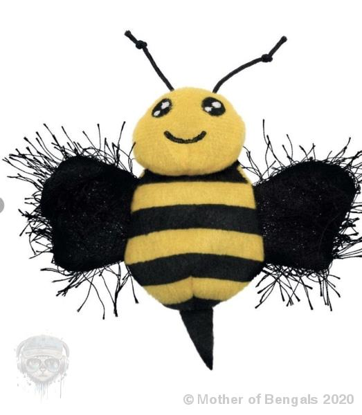 KONG® Better Buzz Bee Toy Mother of Bengals
