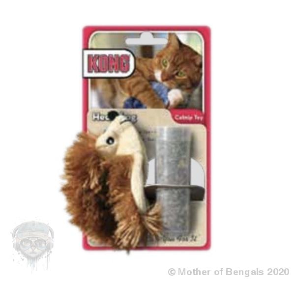Kong® Refillable Catnip Toy - Hedgehog Mother of Bengals