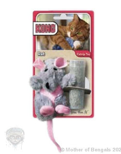 Kong® Refillable Catnip Toy - Rat Mother of Bengals