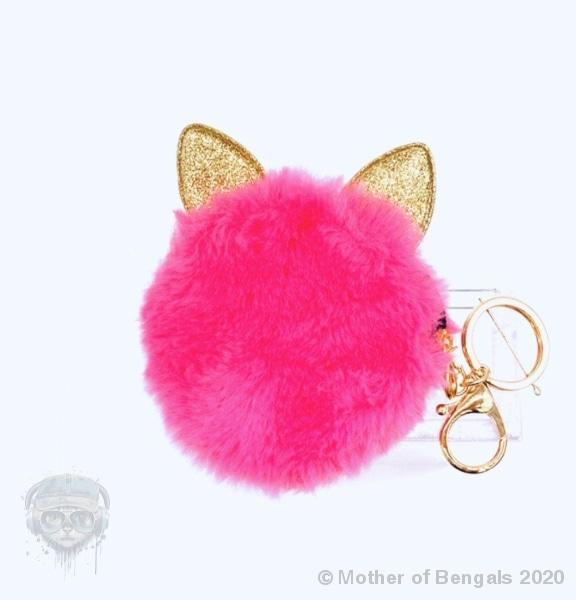 Pink Cat Coin Purse 👛 Accessory motherofbengals