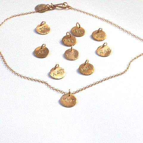 Sorority Charm Necklaces