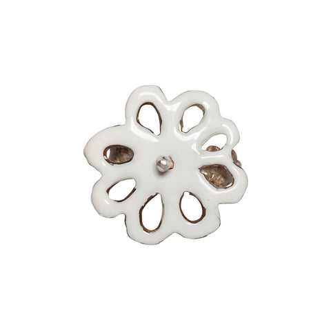 Triple Crown Broderie Anglaise Ring
