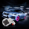 Car Motocycle Wheel Light Decor Lamp Valves Air Caps Auto Accessory Flashing Colorful  Solar Energy LED Tire Light Wholesale