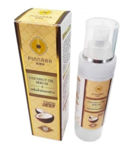 PINNARA COCONUT OIL SERUM VITAMIN C & E FOR SKIN AND HAIR 85ml