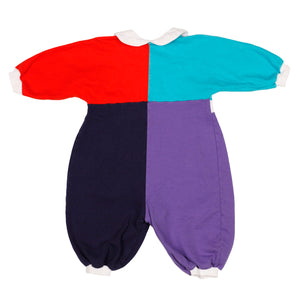 Baby Dior color block one piece size 6m