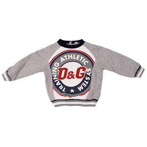 D&G Junior  Athletic Sweatshirt size 12/18m